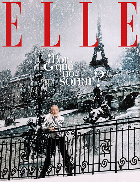 Elle Spain with Jean Paul Gaultier by the photographer Xavi Gordo 00 | White Retouch