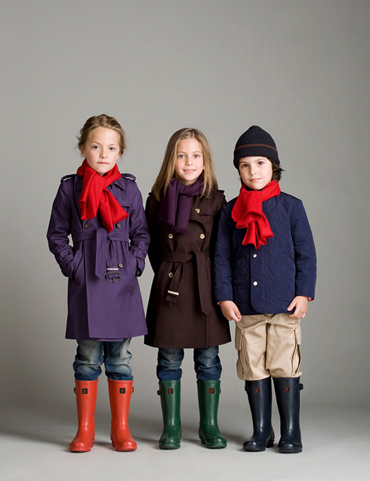 Carolina Herrera Kids Lookbook 2009 retouched by White Retouch 00 | White Retouch