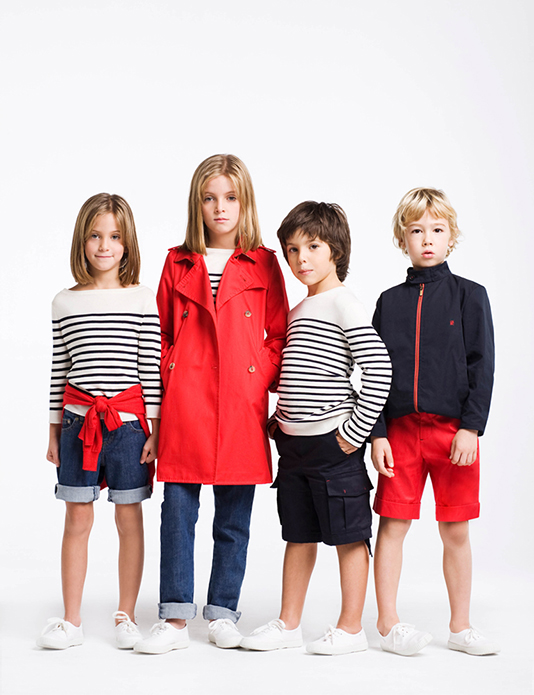Carolina Herrera kids 2010 Lookbook retouched by White Retouch 00 | White Retouch
