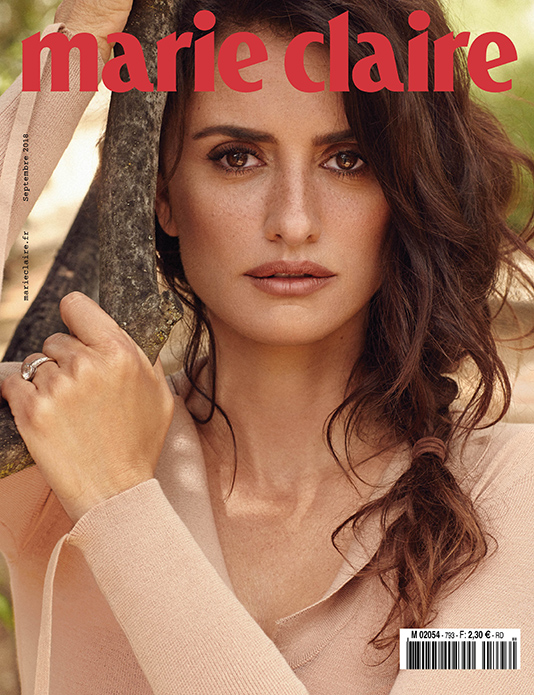 Marie Claire France with Penelope Cruz retouched by White Retouch | White Retouch