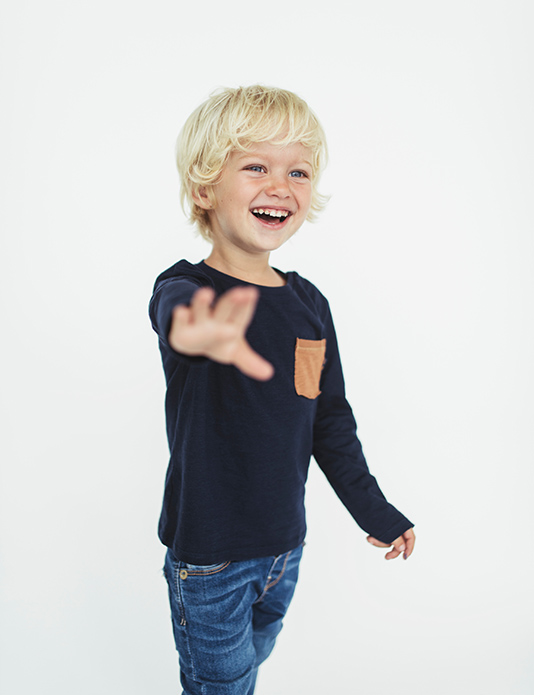 Zara kids baby boy blonde e-commerce