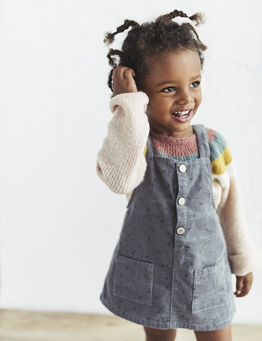 Zara kids baby girl black e-commerce