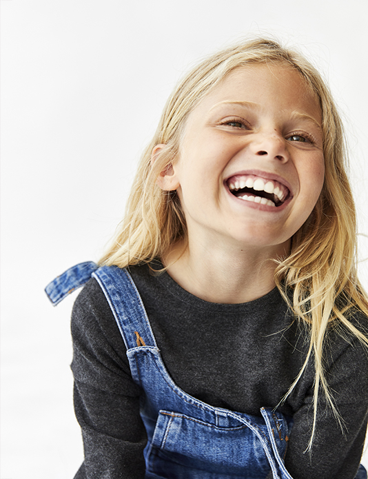 Zara kids girls blonde e-commerce