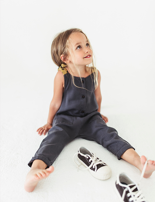 Zara kids baby girl braids e-commerce