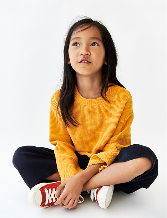 Zara kids red shoes