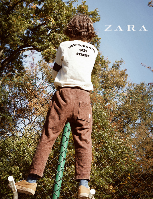 Zara Kids ads