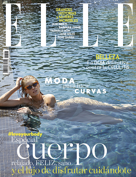 Toni Garrn cover ELLE Spain