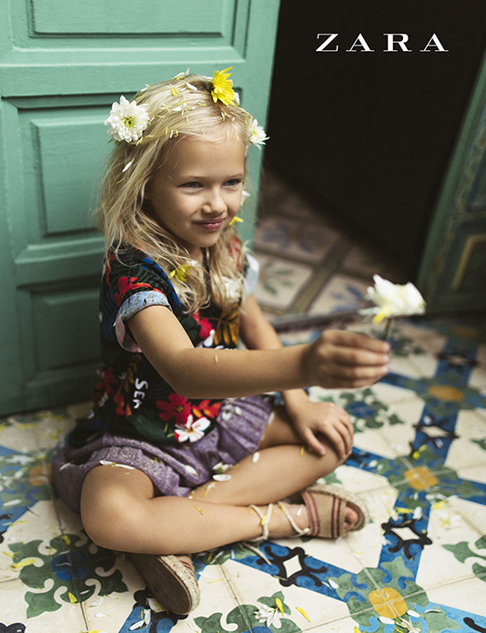 zara kids summer collection
