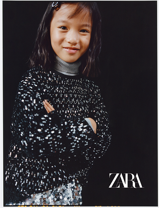 Zara Kids evening collection