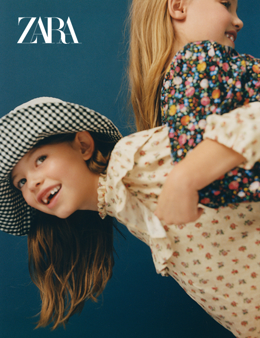 Zara kids Advertising 2019