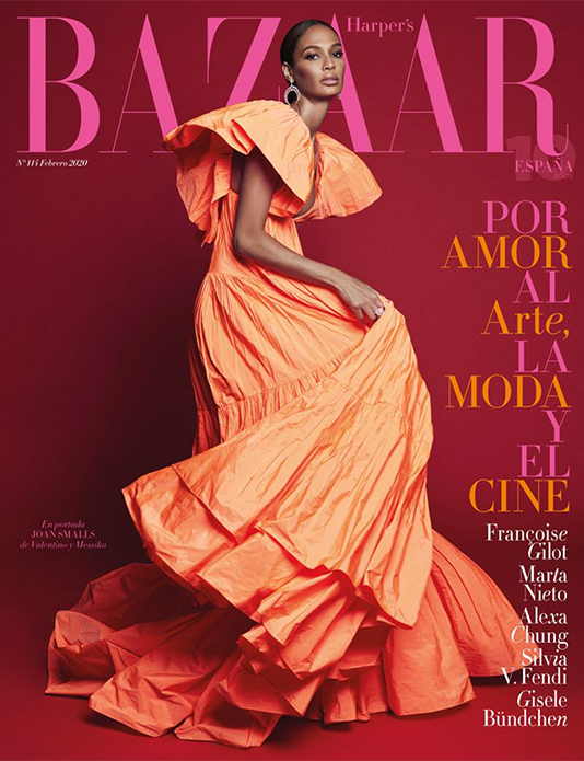 Joan Smalls cover Harper´s Bazaar Spain