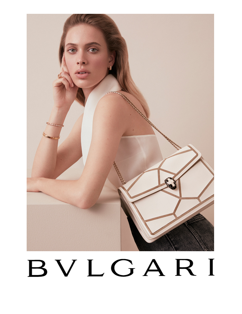 Bulgari Bags Campaign retouched by White Retouch | White Retouch